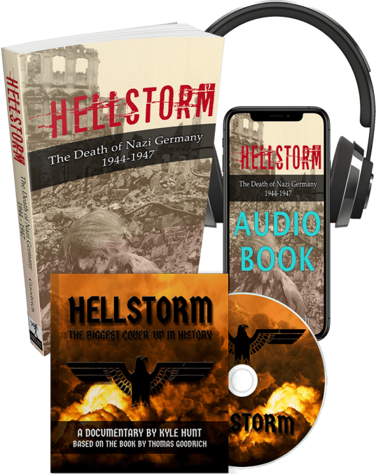 Hellstorm: The Death of Nazi Germany Audio, Book, DVD