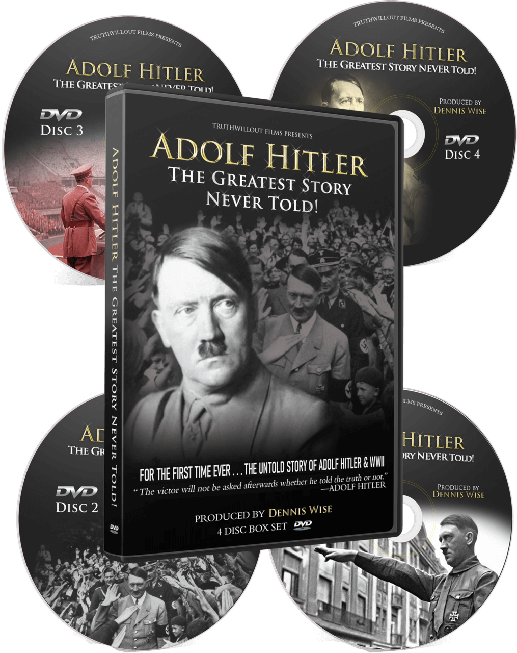 Adolf Hitler: The Greatest Story Never Told!